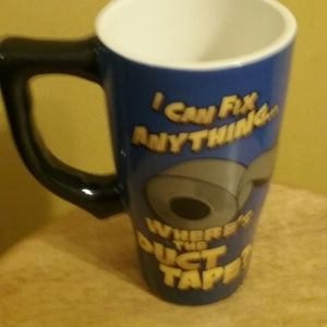 MUG I CAN FIX ANYTHING -WHERE'S THE DUCT TAPE